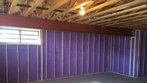 Spray Foam Spray foam insulation Spray Foam Insulation Vs. Batt Insulation and Poly Sprayfoam Basement walls