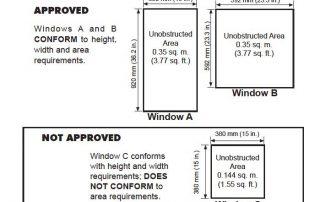Basement egress windows…  Do I really need them? Basement egress windows 320x202
