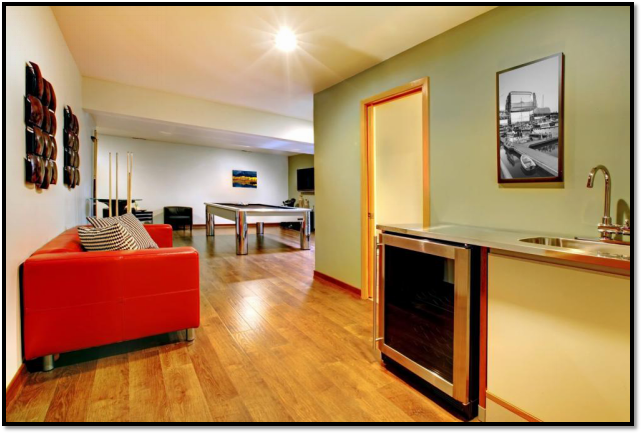 The Finished Product – The Financial Benefits of Remodeling Your Basement Picture5