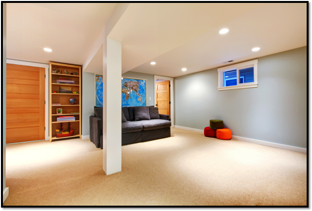 The Finished Product – The Financial Benefits of Remodeling Your Basement Picture6